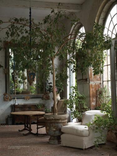 living room design garden axel vervoordt BEST MODERN INTERIOR DESIGN IDEAS BY AXEL VERVOORDT Axel Vervoordt living room garden