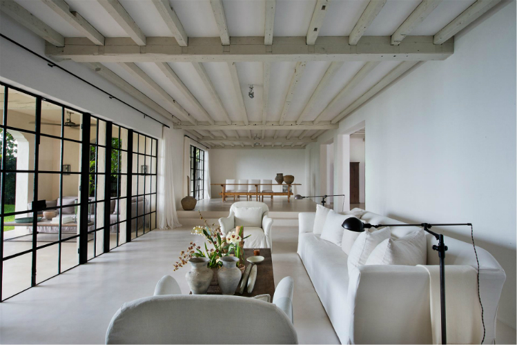 modern design ideas at Calvin Klein house axel vervoordt BEST MODERN INTERIOR DESIGN IDEAS BY AXEL VERVOORDT Axel Vervoordt modern design ideas