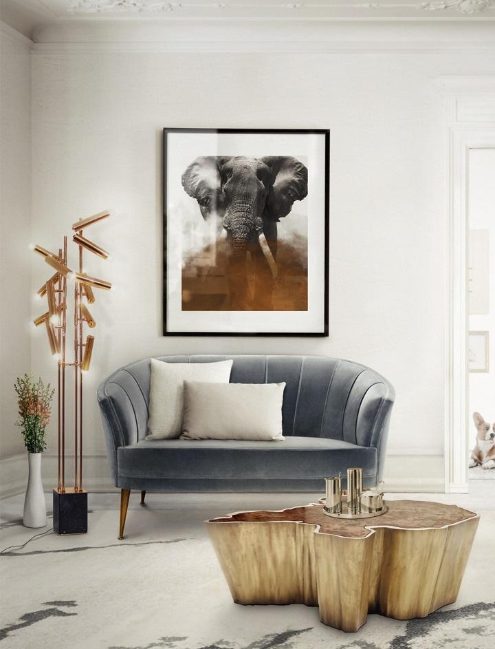 Rose Quartz and Serenity Sofa by Brabbu pantone PANTONE COLOR OF THE YEAR 2016 – ROSE QUARTZ AND SERENITY Check Pantones 2016 Color of the year BRABBU MAYA velvet two seat sofa