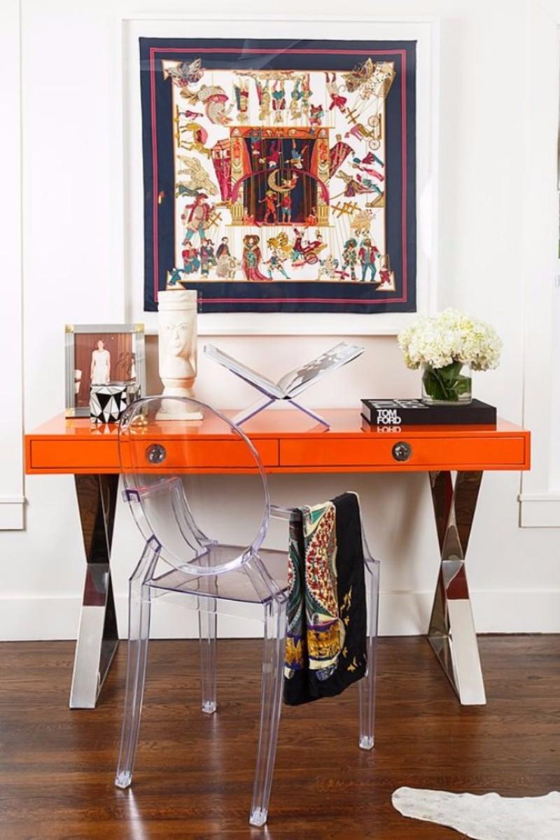 Hermes Orange Console Jonathan Adler
