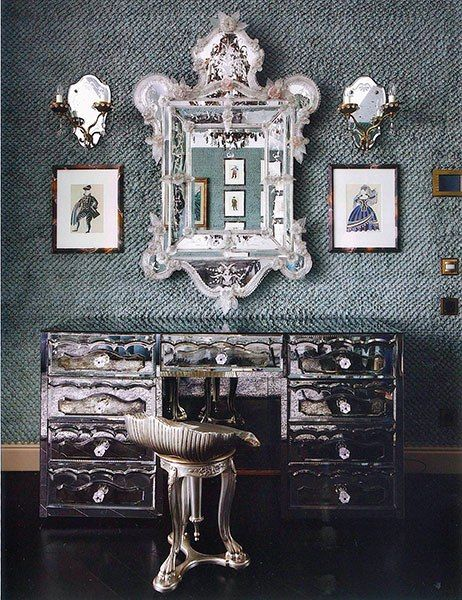 Dramatic-Dressing-table dressing tables 21 DRESSING TABLES FOR THE CONTEMPORARY BEDROOM Dramatic Dressing table