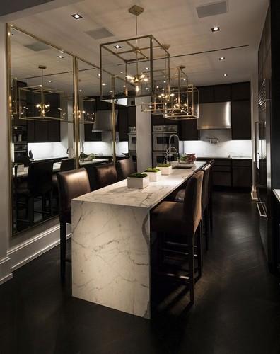 Modern Kitchen Decor  luxury TOP 20 MIRRORS FOR LUXURY INTERIORS TOP 20 mirrors 14