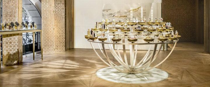 Modern design Boutique-Spa Guerlain, Paris Andree Putman 20 Best Interior Design Projects by Andree Putman feature