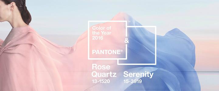 Rose Quartz and Serenity Pantone 2016