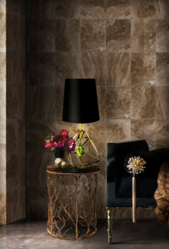 Luxury modern table lamps modern table lamps TOP 20 MODERN TABLE LAMPS gem table lamp enchanted side table prive day bed koket projects