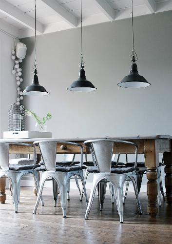 Uitgelezene DECOR IDEAS TO GET AN INDUSTRIAL DINING ROOM DESIGN   Home Decor FG-54