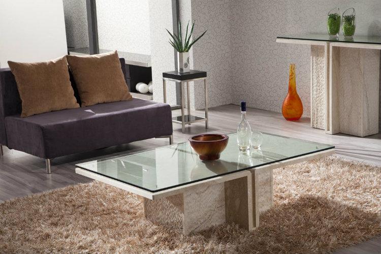 Modern design center tables living room 50 MODERN CENTER TABLES FOR A LUXURY LIVING ROOM square dining room with glass center table modern decor on table design ideas
