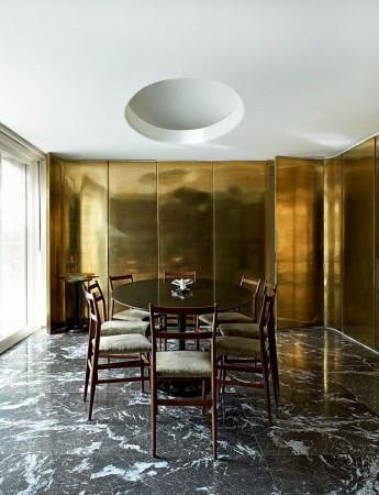 Golden Wall Pannels