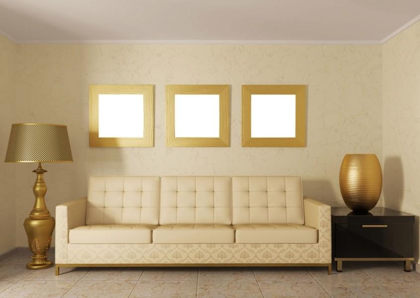 Golden Luxurious Details