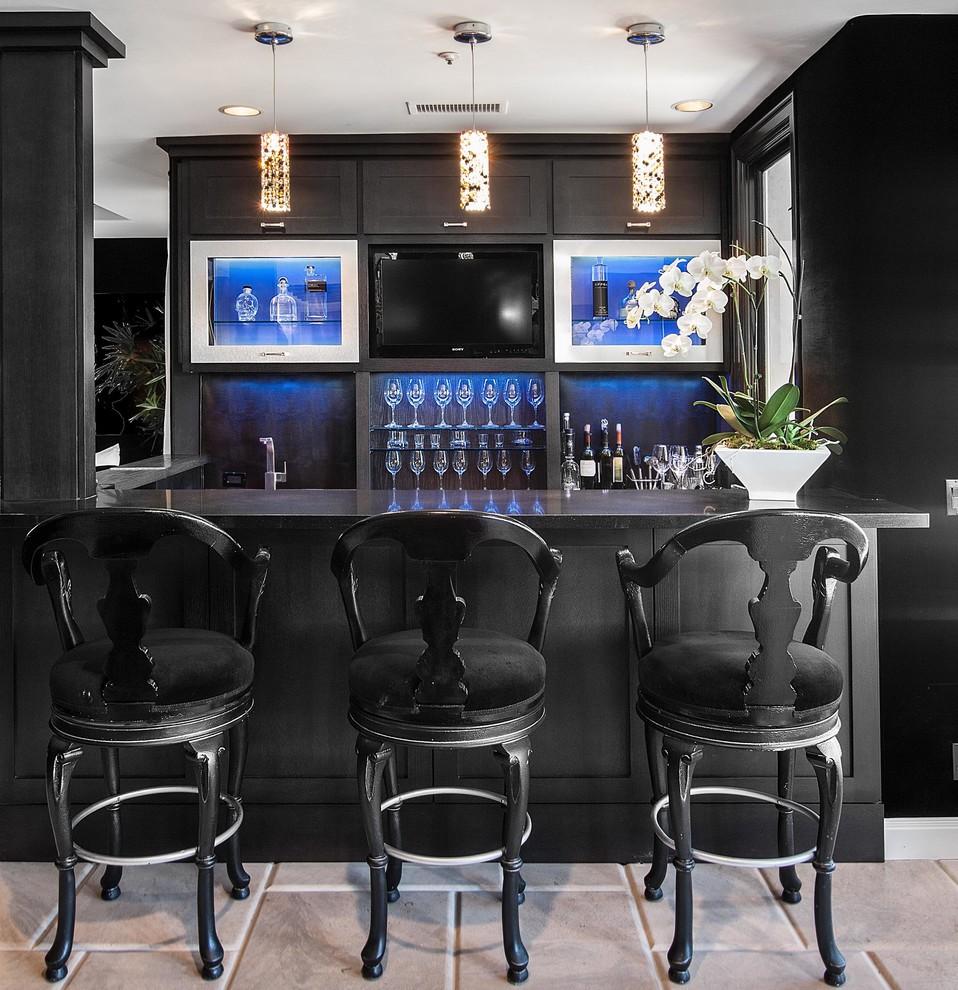 Homes Ideas: 15 Stylish Home Bar Ideas