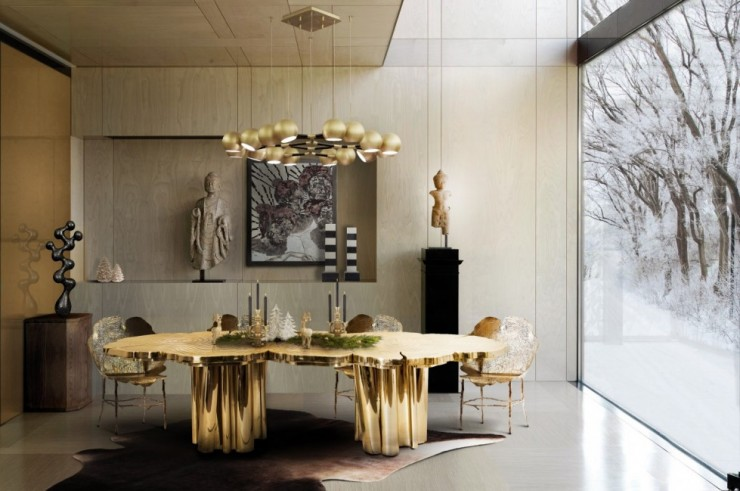 Boca do Lobo Fortuna Dining Table