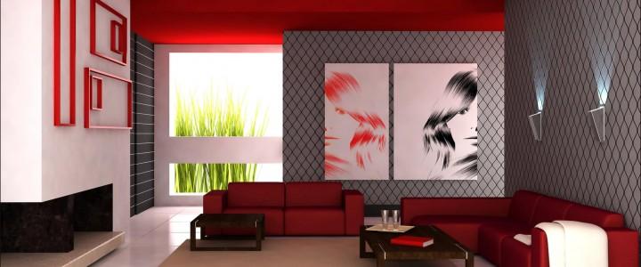 Classic Red Contemporary Design