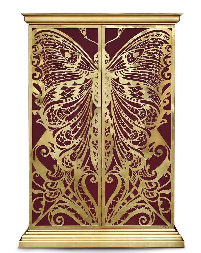 Mademoiselle Cabinet by Koket - Modern Cabinet Modern Cabinets Top 10 Modern Cabinets Mademoiselle Cabinet by Koket