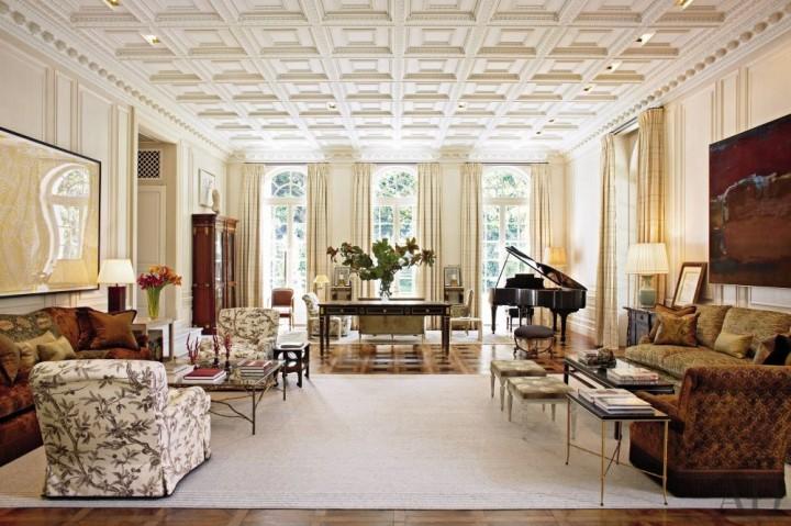 Marino´s living room ideas 7 peter marino 10 luxury living room design projects by Peter Marino Marino  s living room ideas 7 e1457692538186