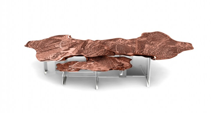 Monet Center Table by Boca do Lobo Copper Most Beautiful Furniture Made in Copper Monet Center Table by Boca do Lobo e1456836092869