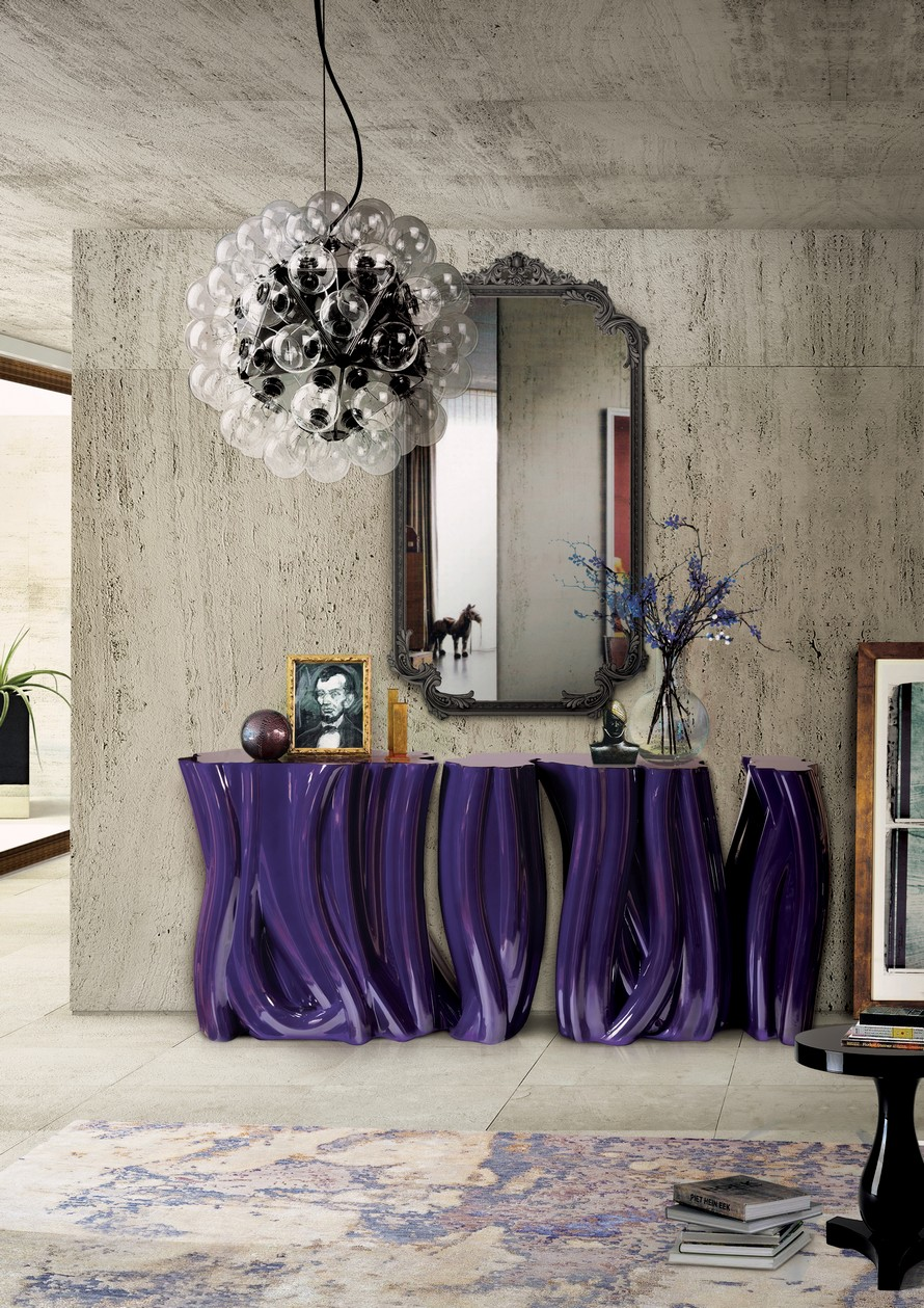 monochrome by Boca do Lobo console tables Gorgeous Console Tables for Summer Decoration monochrome by Boca do Lobo