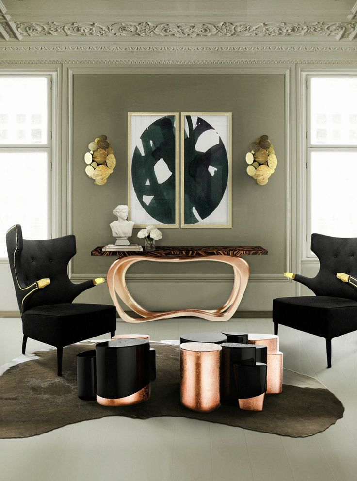 Gorgeous Console Tables for Summer Decoration console tables Gorgeous Console Tables for Summer Decoration infinity console by Boca do Lobo