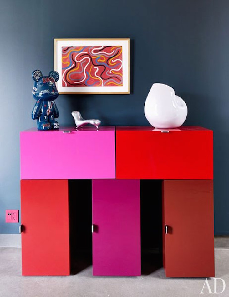 summer trends 2 console tables Gorgeous Console Tables for Summer Decoration summer trends 2