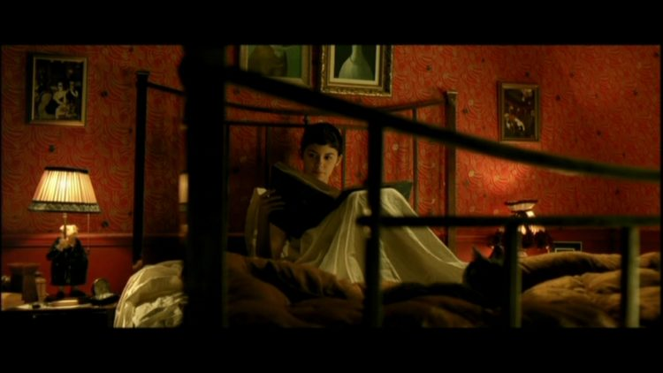 ... Movies Amelie Poulains apartment in the film Amelie Modern bedroom