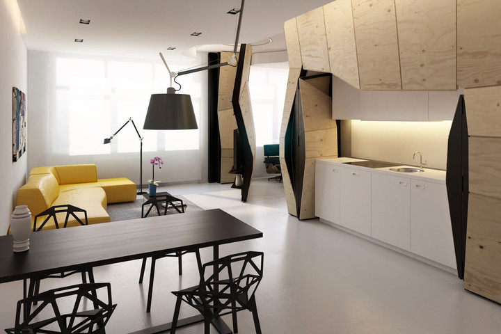 Transformer Apartment - 2 hidden rooms secret passageways Homes with Secret Passageways Transformer Apartment 2 hidden rooms