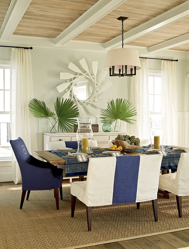 Beach Dining Room Ideas Coastal E1466162961734