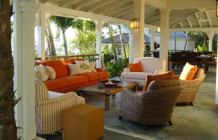 How to decorate your modern porch for summer time home for Caribbean style home designs