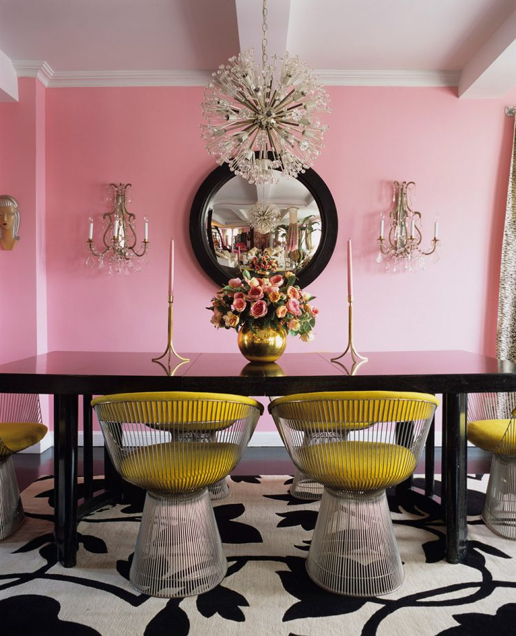 How to decorate with pink details - Pink wall decor idea ...
