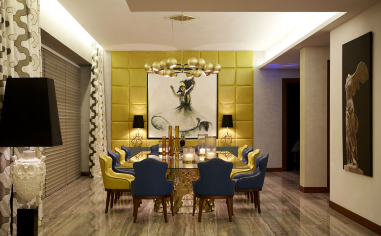 How to decorate with blue and yellow  blue details How to Decorate with Blue Details How to decorate with blue and yellow