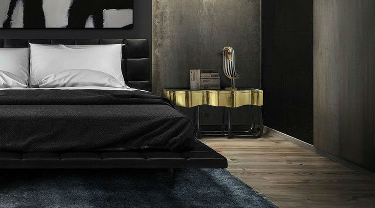 Charming masculine bedroom ideas home decor ideas - Elegant minimalist loft design in masculine vibe wooden decoration ...