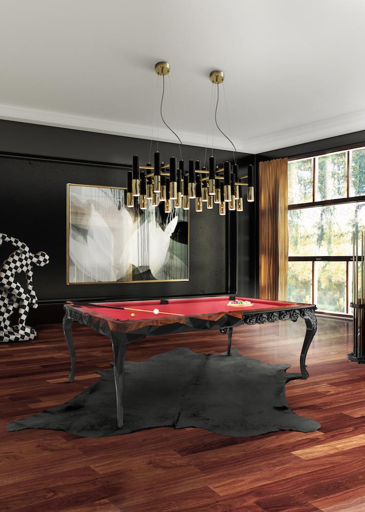 Interiores inspirados en la decoración de hoteles decoración de hoteles Interiores inspirados en la decoración de hoteles Modern Gaming Room