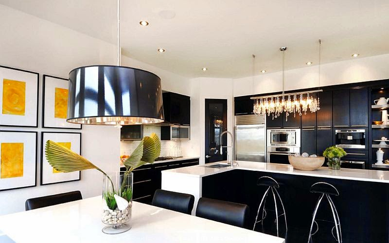kitchen designs in black and white black and white kitchen ideas 315