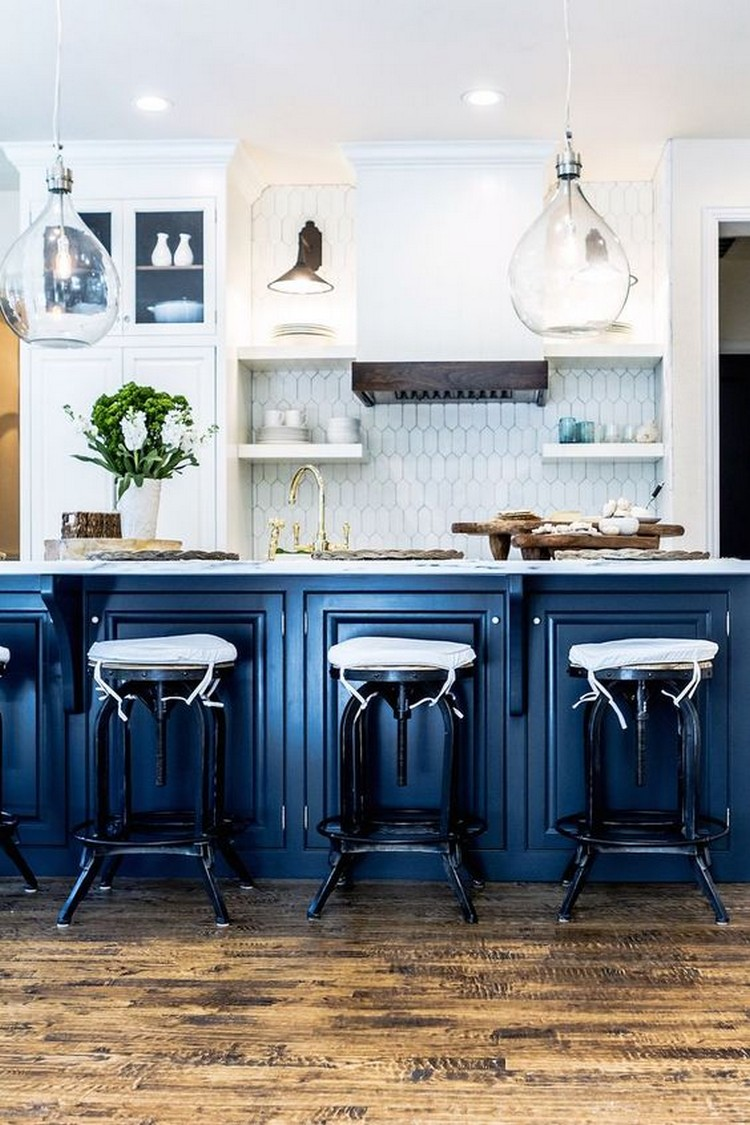 blue kitchen design ideas amazing blue kitchen ideas home decor ideas 4825