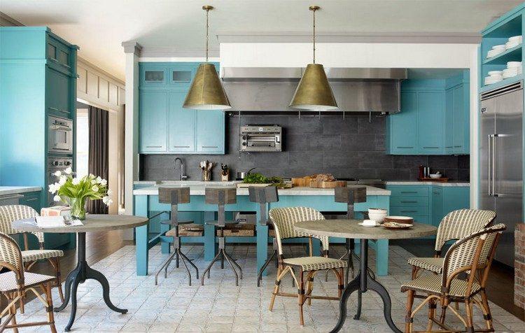 blue kitchen kitchen ideas Amazing Blue Kitchen Ideas blue kitchen54c15e6ed190d   flay edc 07 13 4 xln e1470221500130