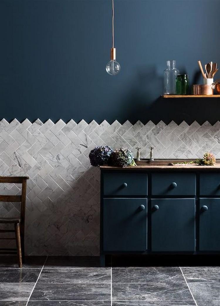 blue kitchen kitchen ideas Amazing Blue Kitchen Ideas blue kitchen7a462b0d6b6440c778b50c48f090a1ef