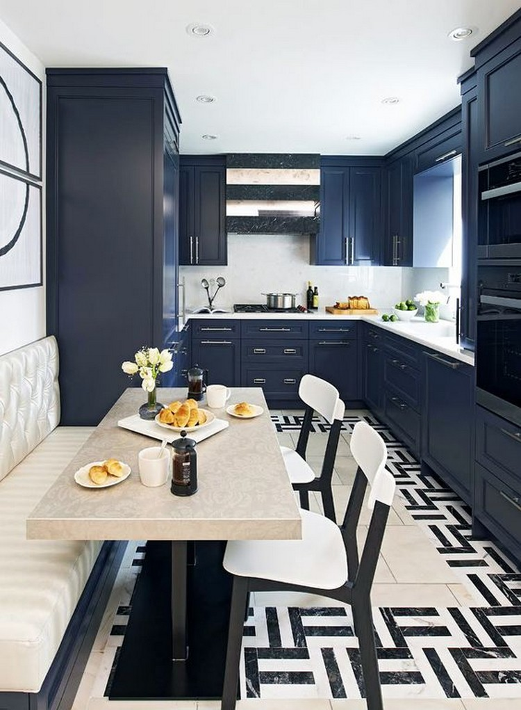 blue kitchen kitchen ideas Amazing Blue Kitchen Ideas blue kitchenb770975011f26eb8485fa63016913016