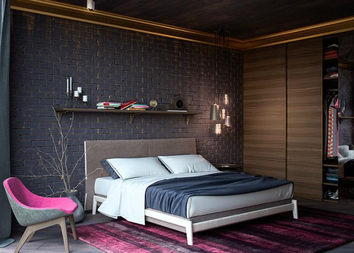 Modern Loft 1-glamour Modern Loft The Best Bedrooms Designs For Your Modern Loft 1 glamour