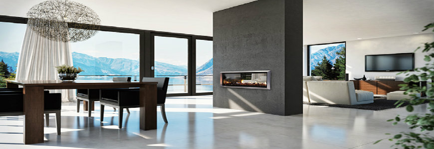 dining rooms Best Fireplaces For Your Contemporary Dining Rooms 10 escea 1
