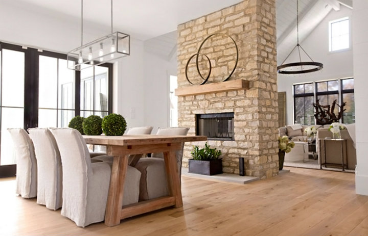 dining rooms dining rooms Best Fireplaces For Your Contemporary Dining Rooms 6 enjoy