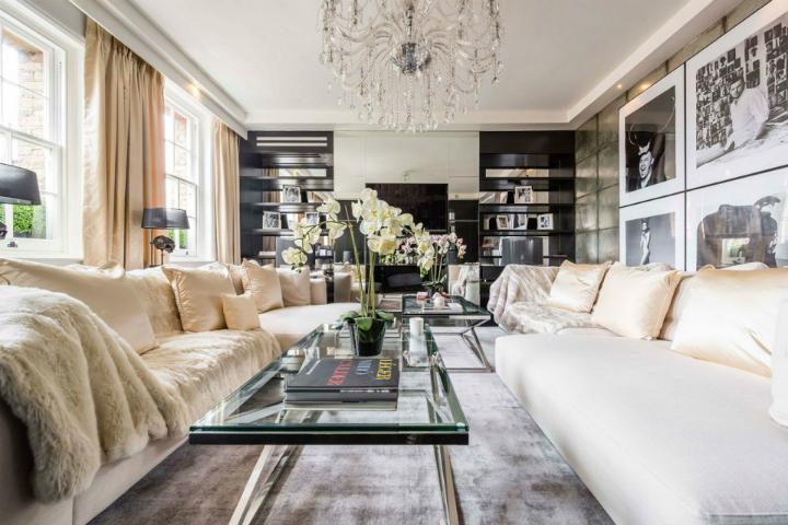 Restoring Celebrities Homes Alexander McQueen Home Decor Ideas