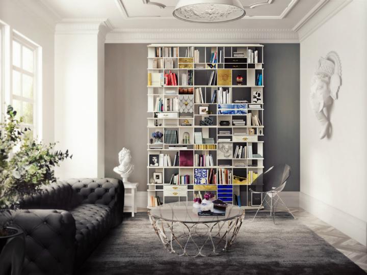 Home Office Decor Ideas home office decor ideas Fall/Winter Trend Alert – Home Office Decor Ideas coleccionista custom bookcase shelf 03