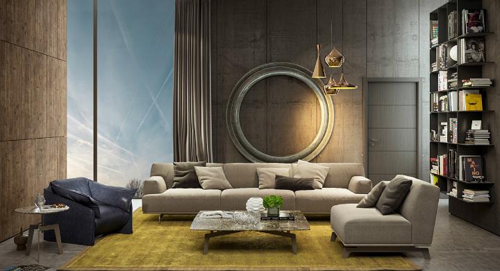 art-deco-living-room home decor ideas Beautiful Home Decor Ideas For Modern Living Rooms Art Deco living room