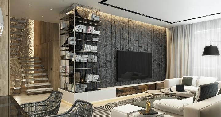 bold-living-room-textures home decor ideas Beautiful Home Decor Ideas For Modern Living Rooms bold living room textures