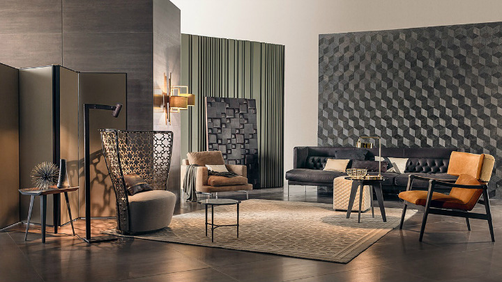 eclectic-living-room-walls home decor ideas Beautiful Home Decor Ideas For Modern Living Rooms eclectic living room walls