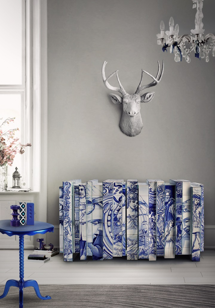 heritage_sideboard Home Decor Ideas 10 Home Decor Ideas From Luxury Hotels heritage sideboard 1