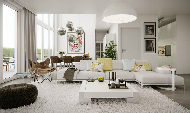 living-room-lighting-trends living room design trends Top 10 Contemporary Living Room Design Trends For 2017 living room lighting trends