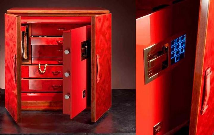 Heartbreaking luxury safes at maison et objet paris home for Luxury home safes