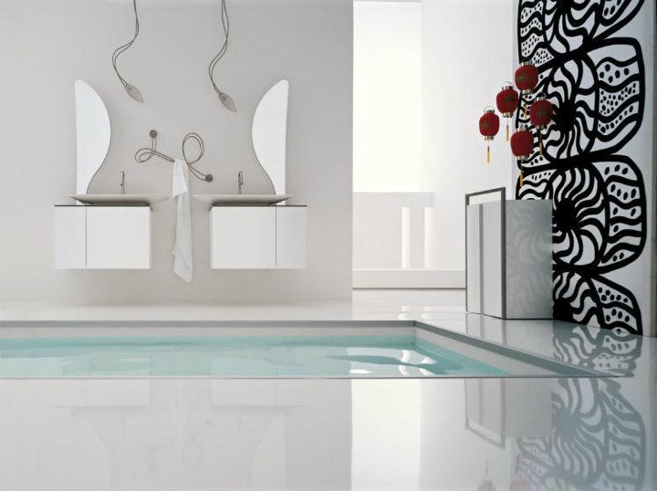 bathroom-wall-designs luxury bathrooms ideas Beautiful Minimalist Luxury Bathrooms Ideas bathroom wall designs