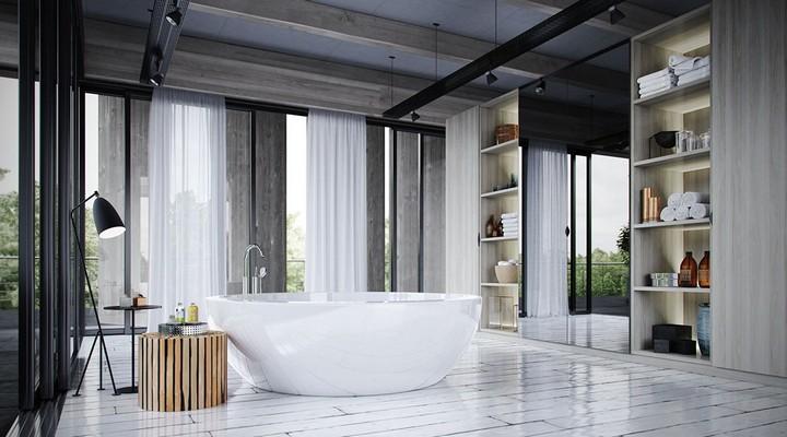 large-bathtubs bathtub ideas for luxury bathrooms 10 Inspiring Bathtub Ideas For Luxury Bathrooms large bathtubs