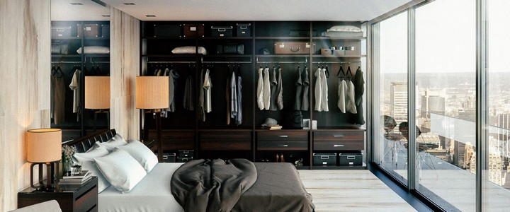 Inspiring Closets for Luxury Master Bedrooms