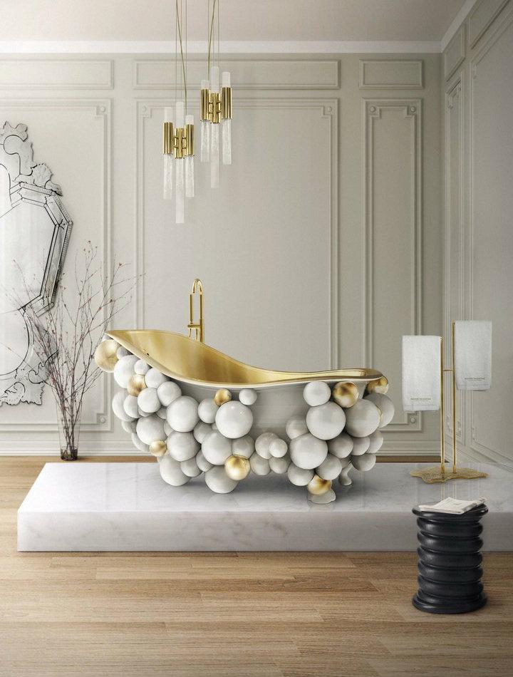 waterfall-pendant-02 Luxury Bathrooms Inspiring Luxury Bathrooms with Marble Accents waterfall pendant 02